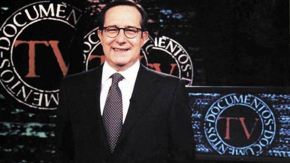 Foto: El periodista Pedro Erquicia en 'Documentos TV'