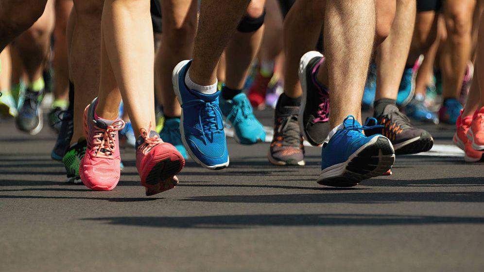 Foto: Corredores de maratón. (iStock)