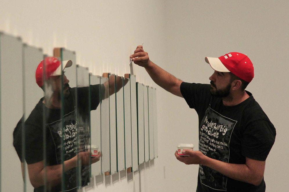 Foto: Una de las obras que se va del MACBA (EFE)