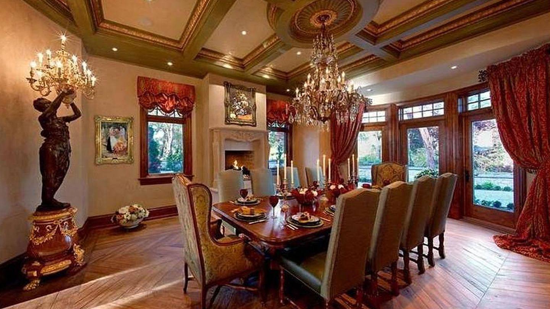 Interior de la mansión donde se alojan los Sussex. (Sotheby's)