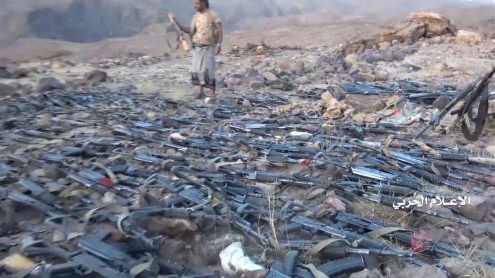 Foto: Captura del vídeo distribuído por los rebeldes hutíes. (EFE)