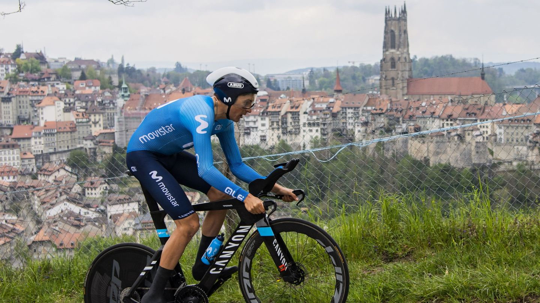Soler, en el reciente Tour de Romandía. (REUTERS)