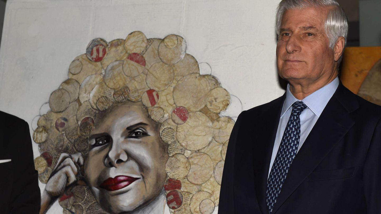 Carlos Fitz-James durante la inauguración de la exposición ''Doña Cayetana, ¡va por usted!'