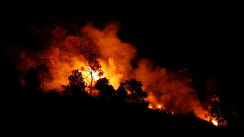 Foto: El incendio de Ribera de Ebro (Tarragona) ha avanzado incontrolado durante la pasada noche.(Reuters)