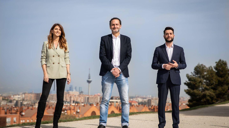 Edmundo Bal, Esther Ruiz y César Zafra encabezan la candidatura. (Foto: Pedro Ruiz)
