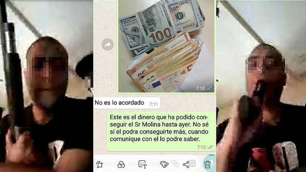 Foto: Los padres de Paco Molina fueron extorsionados. (EC)