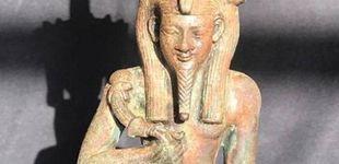Post de Hallan una estatuilla de un dios egipcio de más de 2.500 años