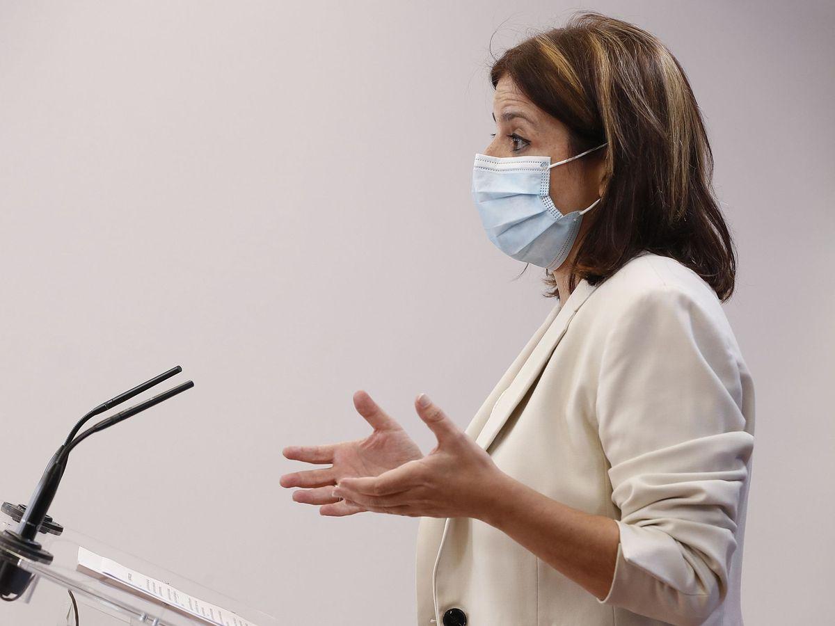 Foto: La portavoz socialista en el Congreso, Adriana Lastra. (EFE)