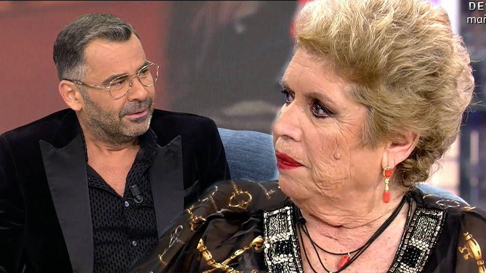 El corte de María Jiménez a Jorge Javier Vázquez por una pregunta inapropiada