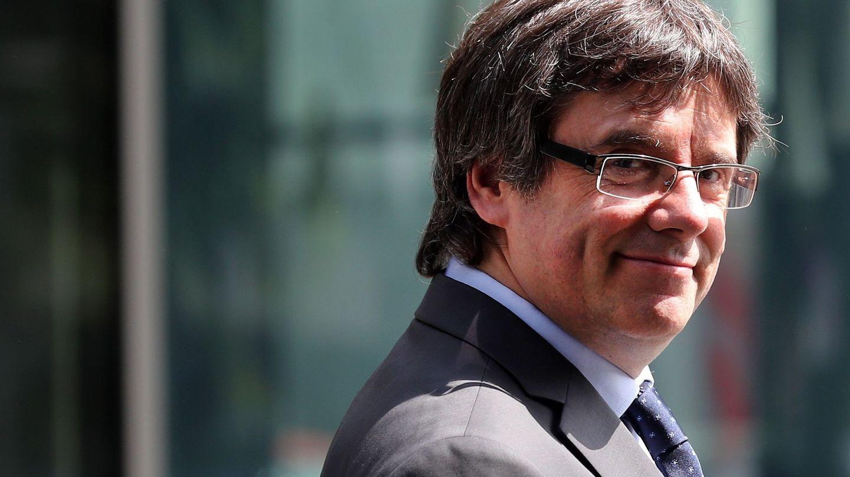 El expresidente de la Generalitat catalana Carles Puigdemont. (EFE)