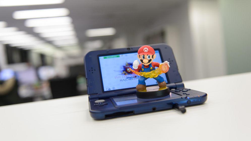 Foto: La nueva Nintendo 3DS (Fotografía: Daniel Muñoz).