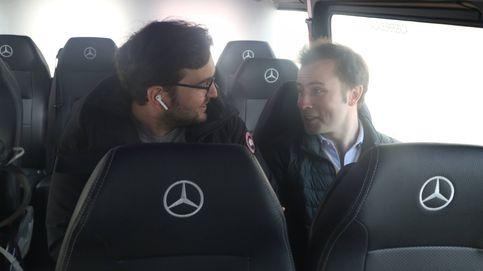 Rutas compartidas en 'supervans' para ir a trabajar