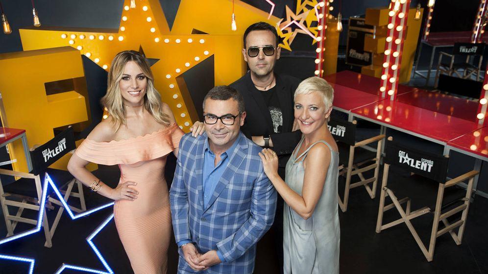 Foto: El jurado de 'Got Talent España 3'. (Mediaset)