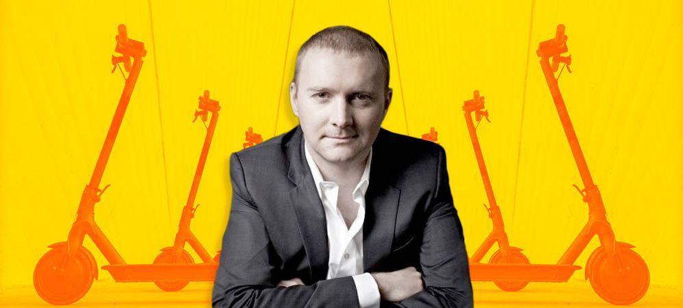 Foto: Lukasz Gadowsk, cofundador de la empresa de patinetes eléctricos de alquiler Circ. (Imagen: EC)