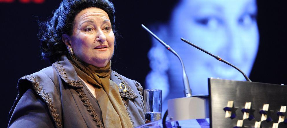 Foto: Montserrat Caballé en noviembre de 2013 (Gtres)