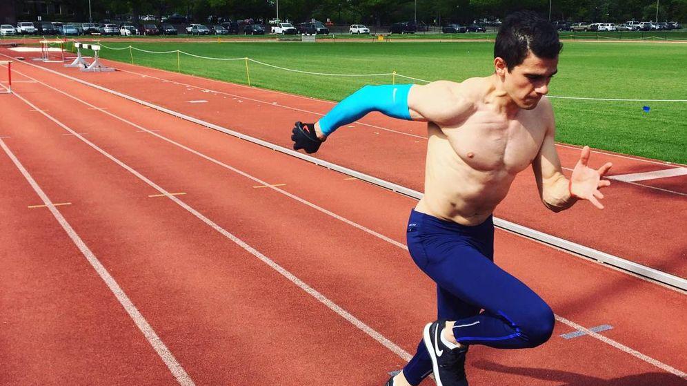 Foto: Bruno Hortelano entrenando el 20 de mayo de este año. (Foto: Twitter @BrunoHortelano)