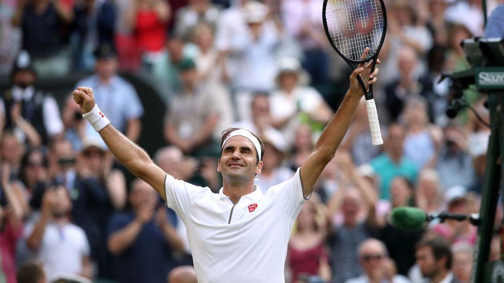 Federer apea a Rafa Nadal de la final de Wimbledon en otro partido memorable