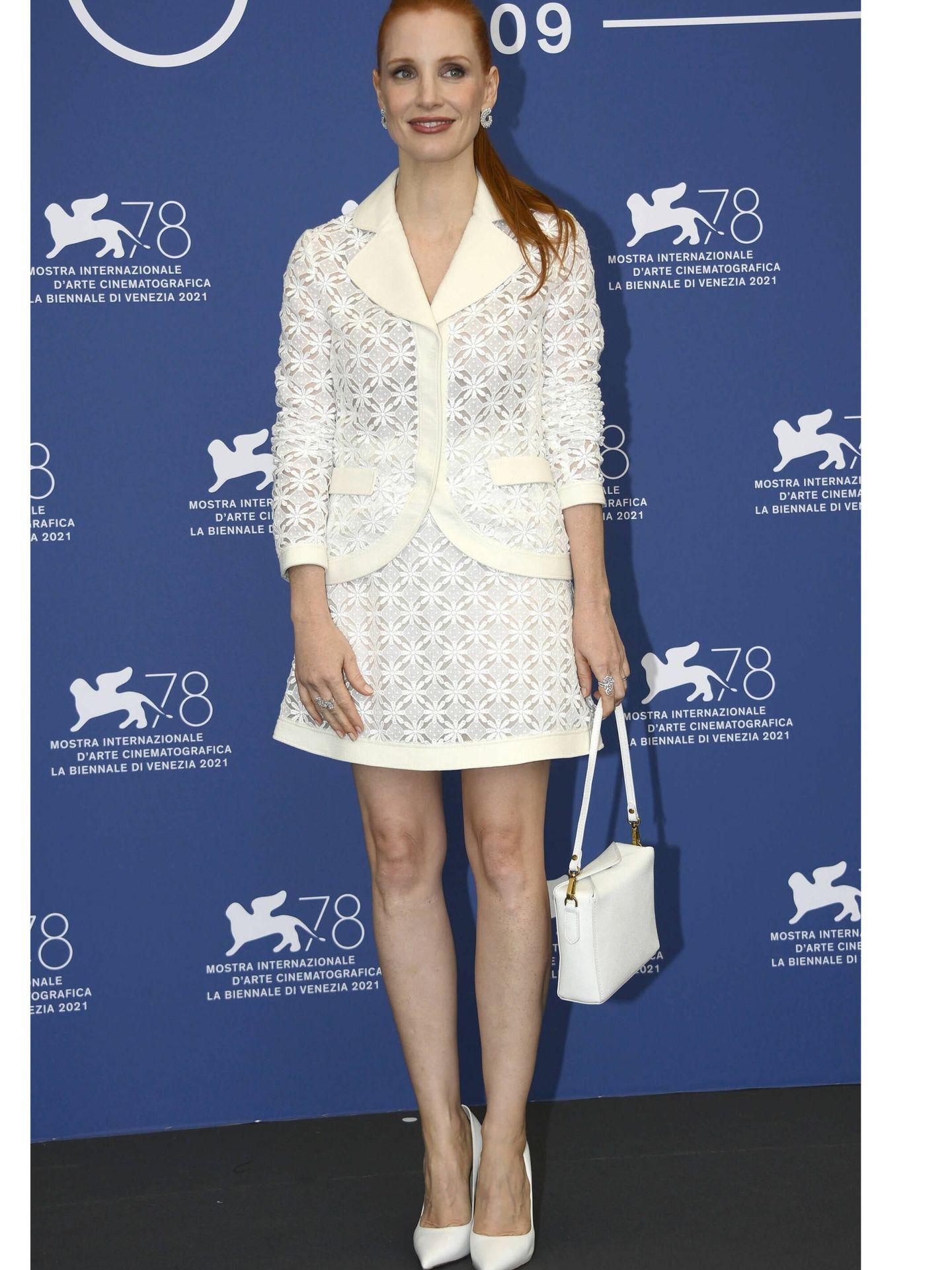 Jessica Chastain. (EFE)