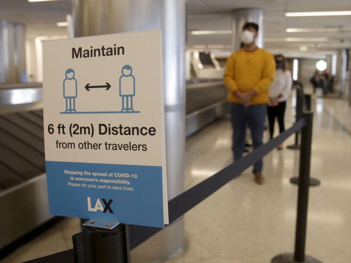 Foto: Aeropuerto de Los Ángeles (EFE)