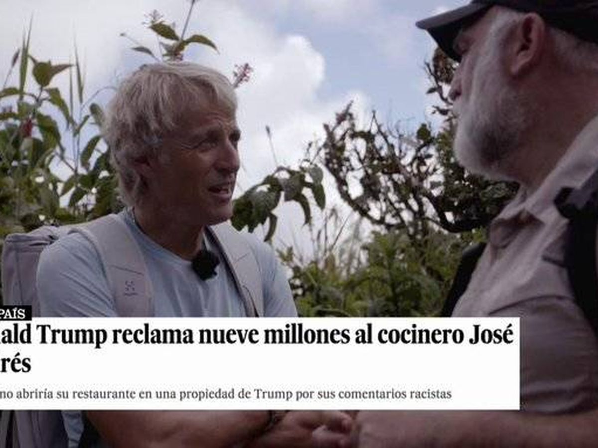 Foto: Calleja y José Andrés, en 'Planeta Calleja'. (Cuatro)