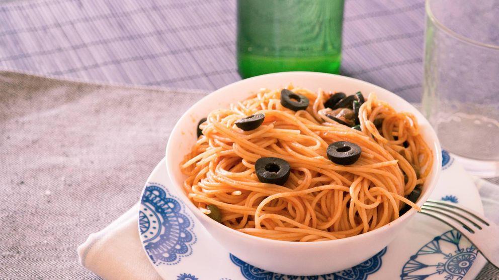 Espaguetis a la puttanesca: una receta rápida y de sabor auténtico