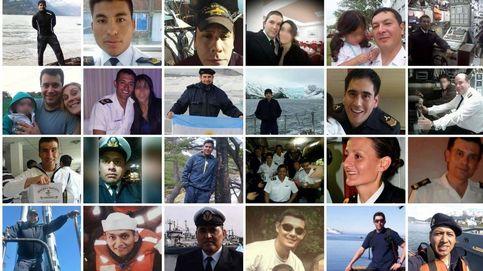 Esta es la tripulación del submarino argentino desaparecido