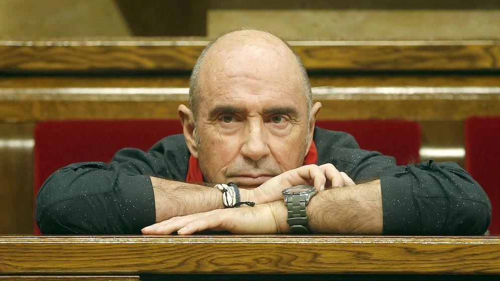 Foto: El diputado de Junts Pel Sí, Lluís Llach, en el Parlament. (EFE)
