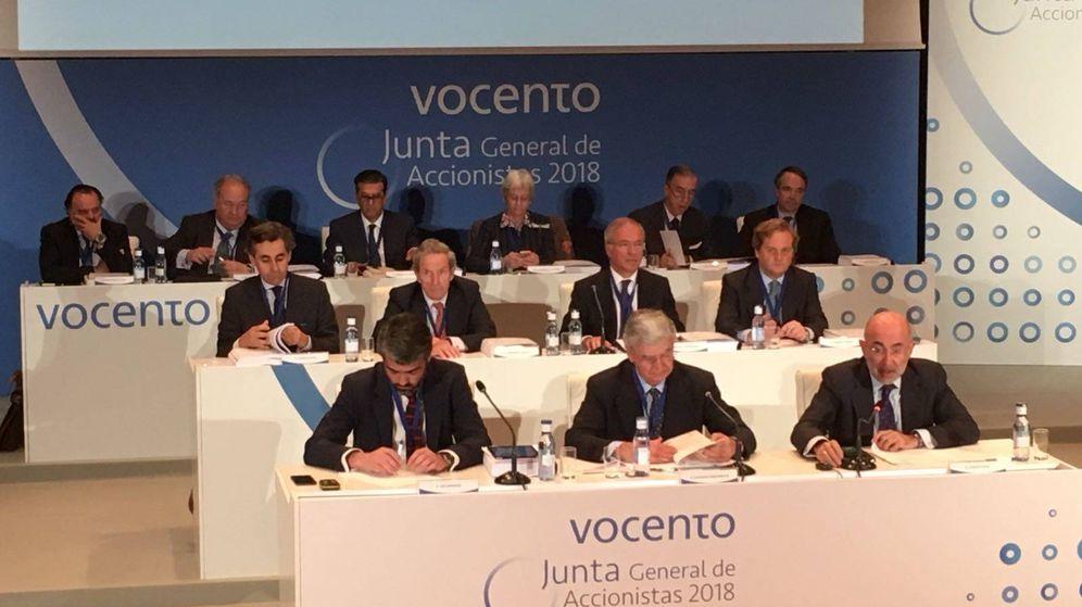 Foto: Junta de accionistas de Vocento.