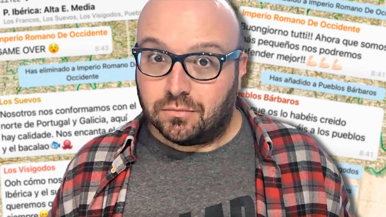 El profesor malagueño que enseña historia de España a sus alumnos por WhatsApp