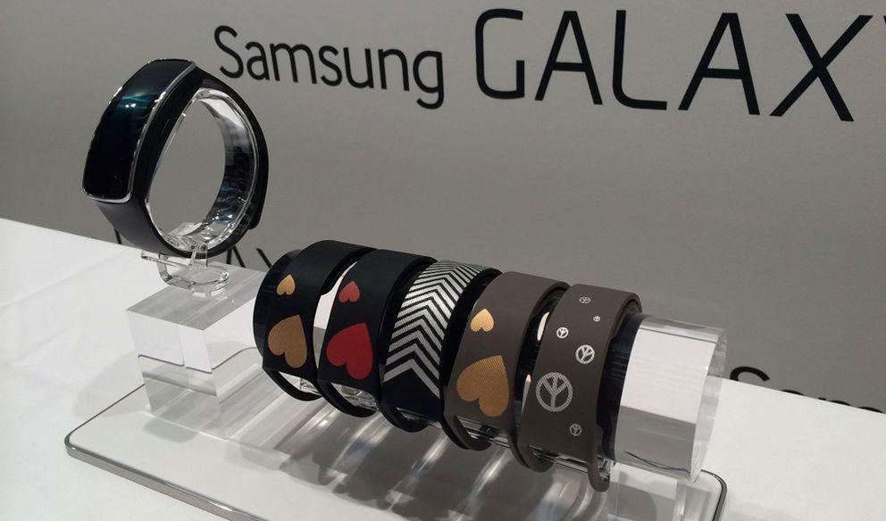 Foto: Auge de las pulseras inteligentes: probamos la Gear Fit de Samsung