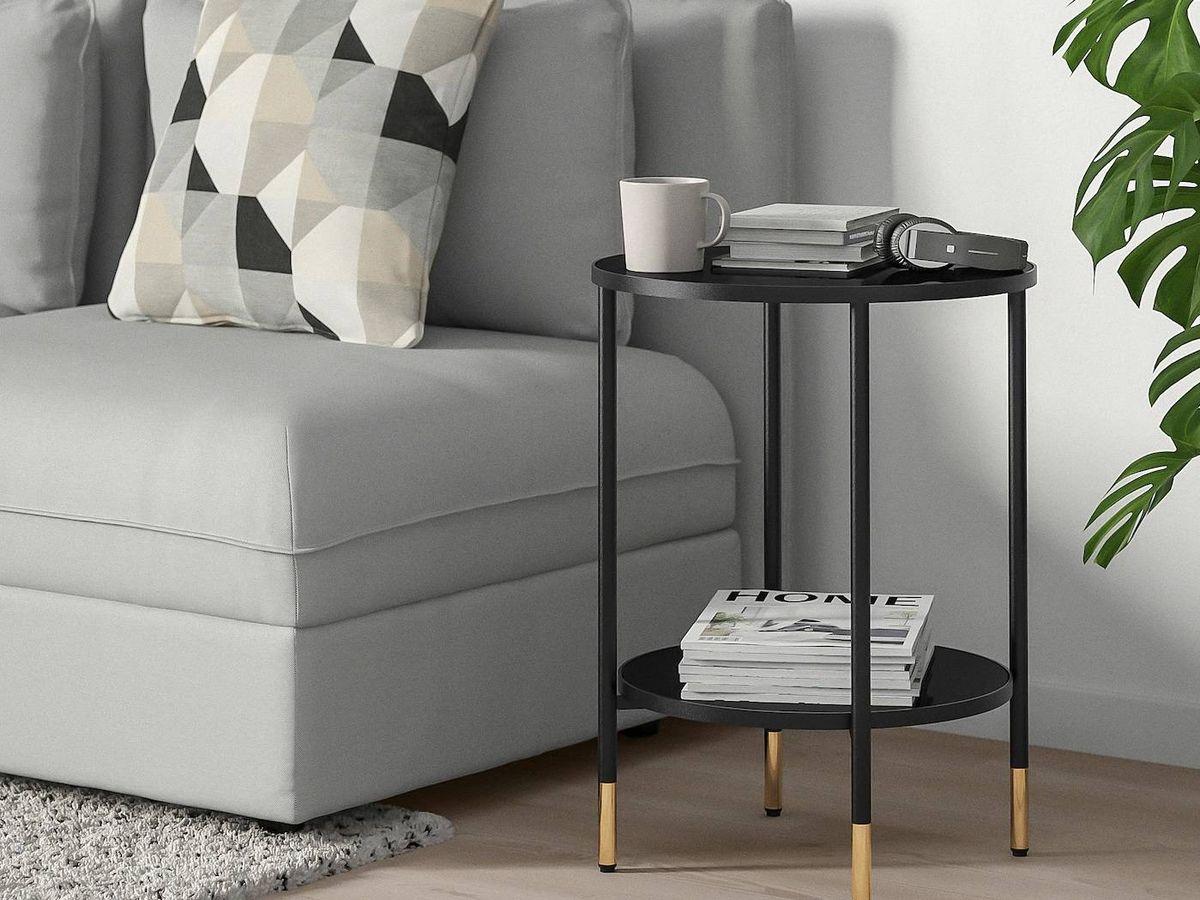Foto: Mesas auxiliares en Ikea para tu salón. (Cortesía)