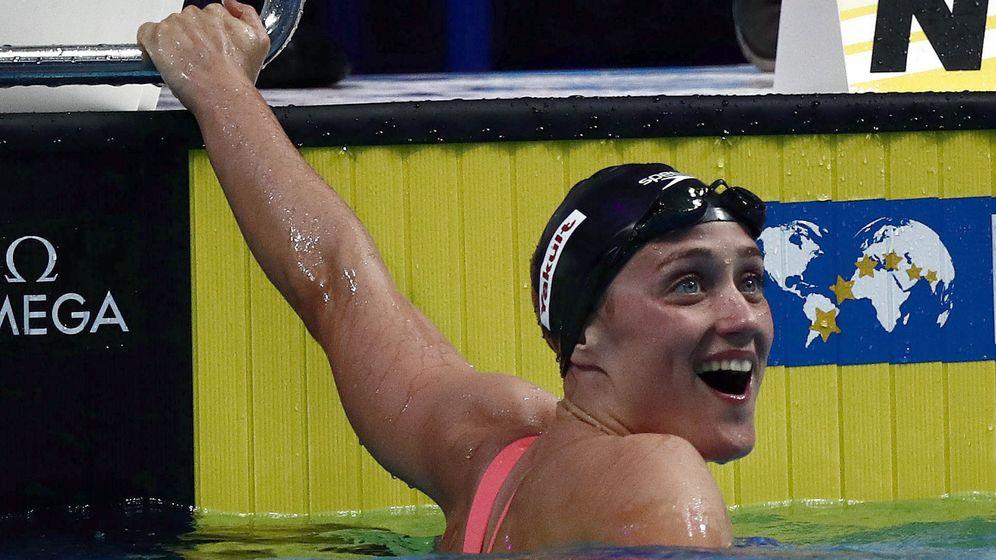 Foto: Mireia Belmonte fue plata en los 1.500 metros libres del Mundial de Budapest. (EFE)