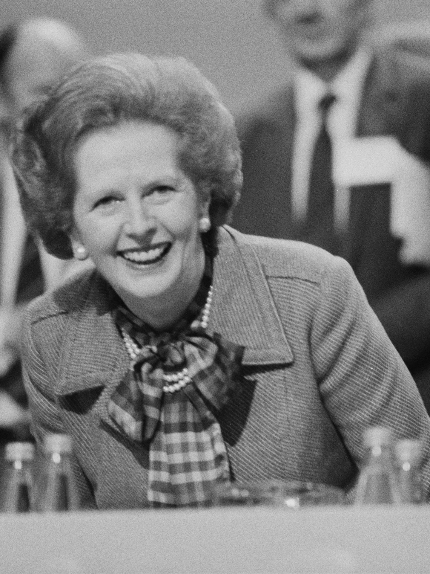 Margaret Thatcher. (Getty)