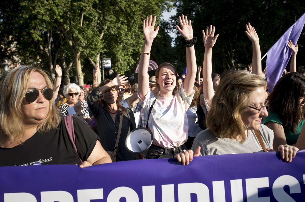 Foto: Manifestación contra la violencia de género en Madrid el pasado mayo. (EFE)