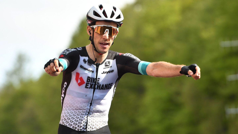 Yates, en la etapa anterior. (Reuters)