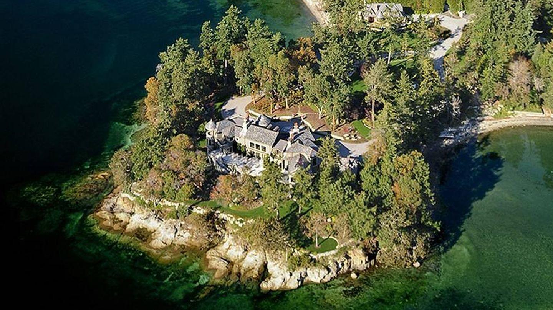Vista aérea de la mansión donde se alojan los Sussex. (Sotheby's)
