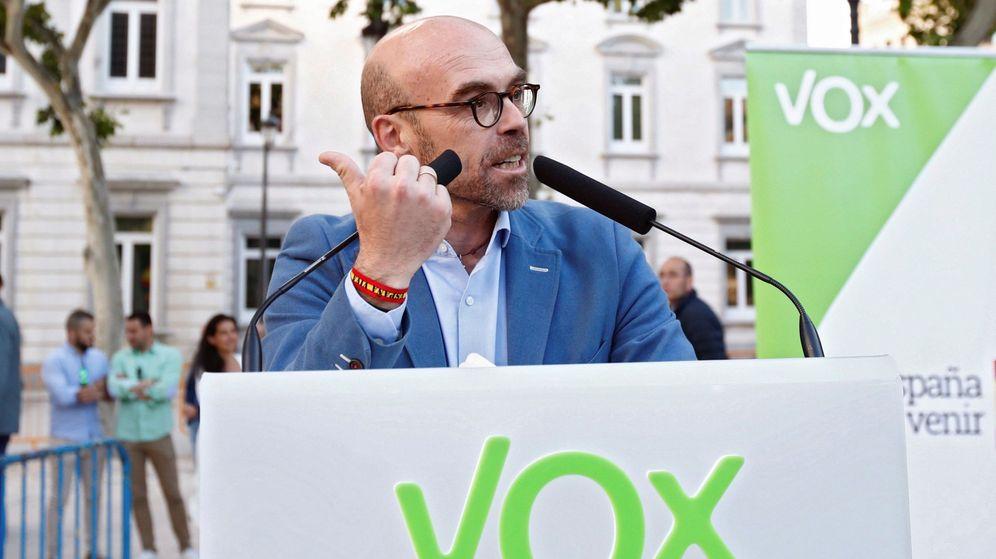 Foto: El eurodiputado de Vox, Jorge Buxadé. (EFE)