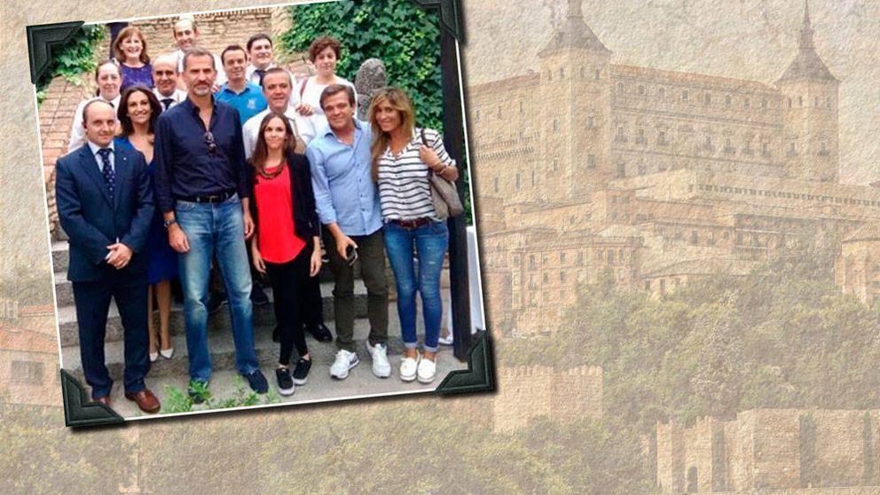 La comilona del Rey (sin Letizia) con sus colegas de promoción en Toledo