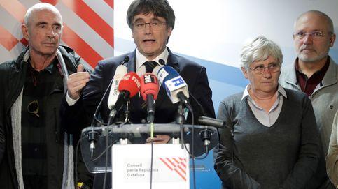 Puigdemont se desmarca ahora de cualquier violencia y deja solo a Torra el 1-O