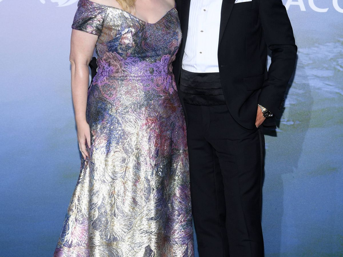 Foto:  Rebel Wilson y Jacob Busch. (Getty)