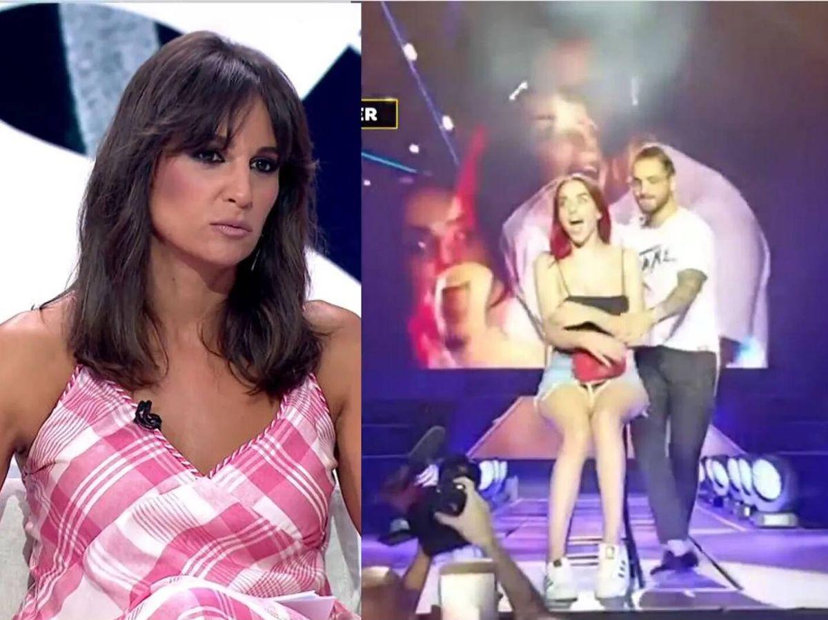 Foto: Lorena García, en 'Espejo público'. (Antena 3)