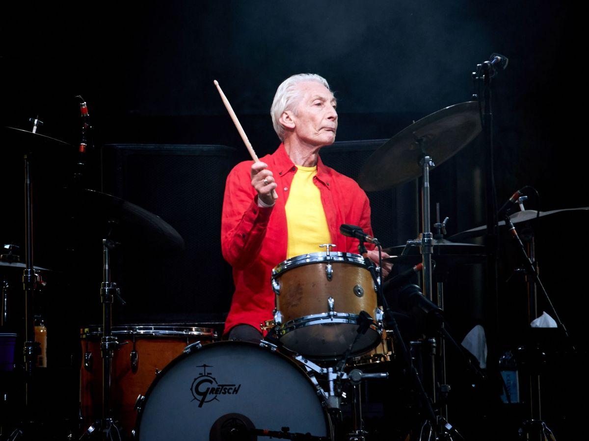 Foto: Charlie Watts, batería de la banda británica Rolling Stones. (EFE)
