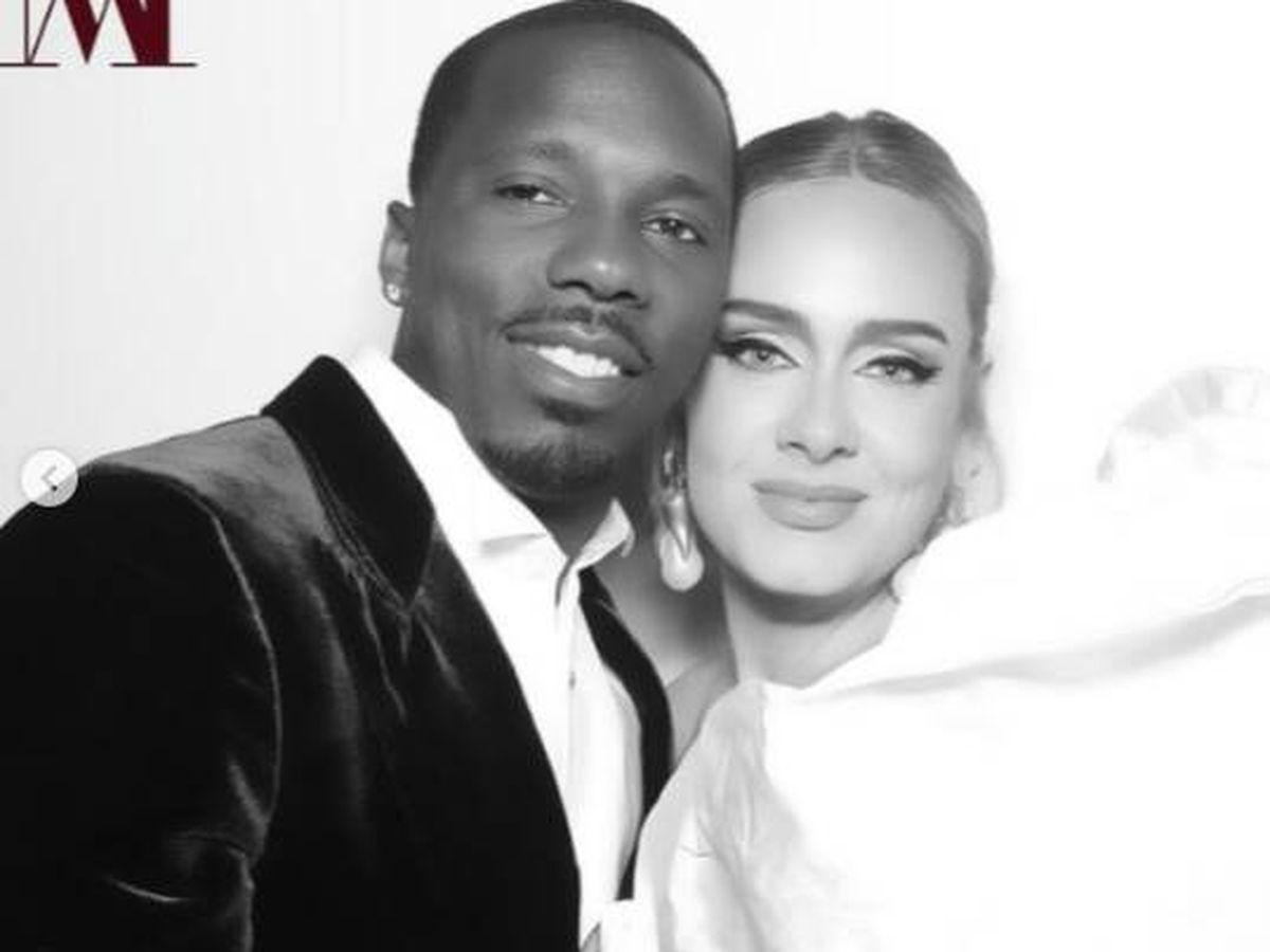 Foto: Adele ha confirmado su noviazgo en sus redes sociales. (Instagram @adele)