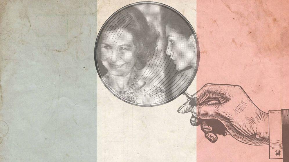 Foto:  Las reinas en un fotomontaje de 'Vanitatis'.
