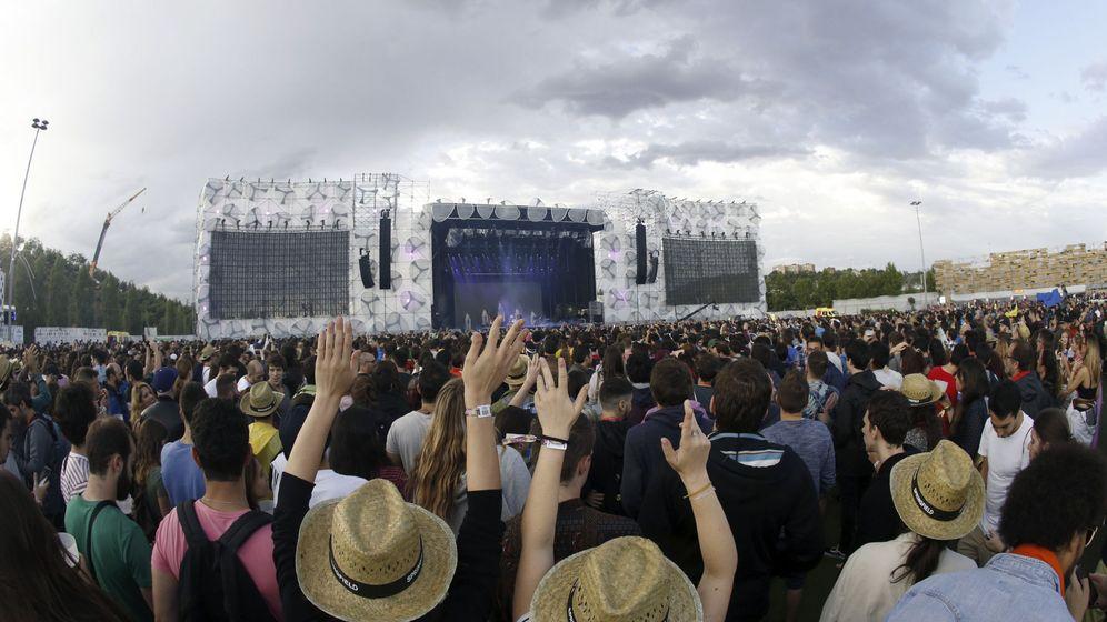 Foto: Festival madcool en pasadas ediciones (EFE)