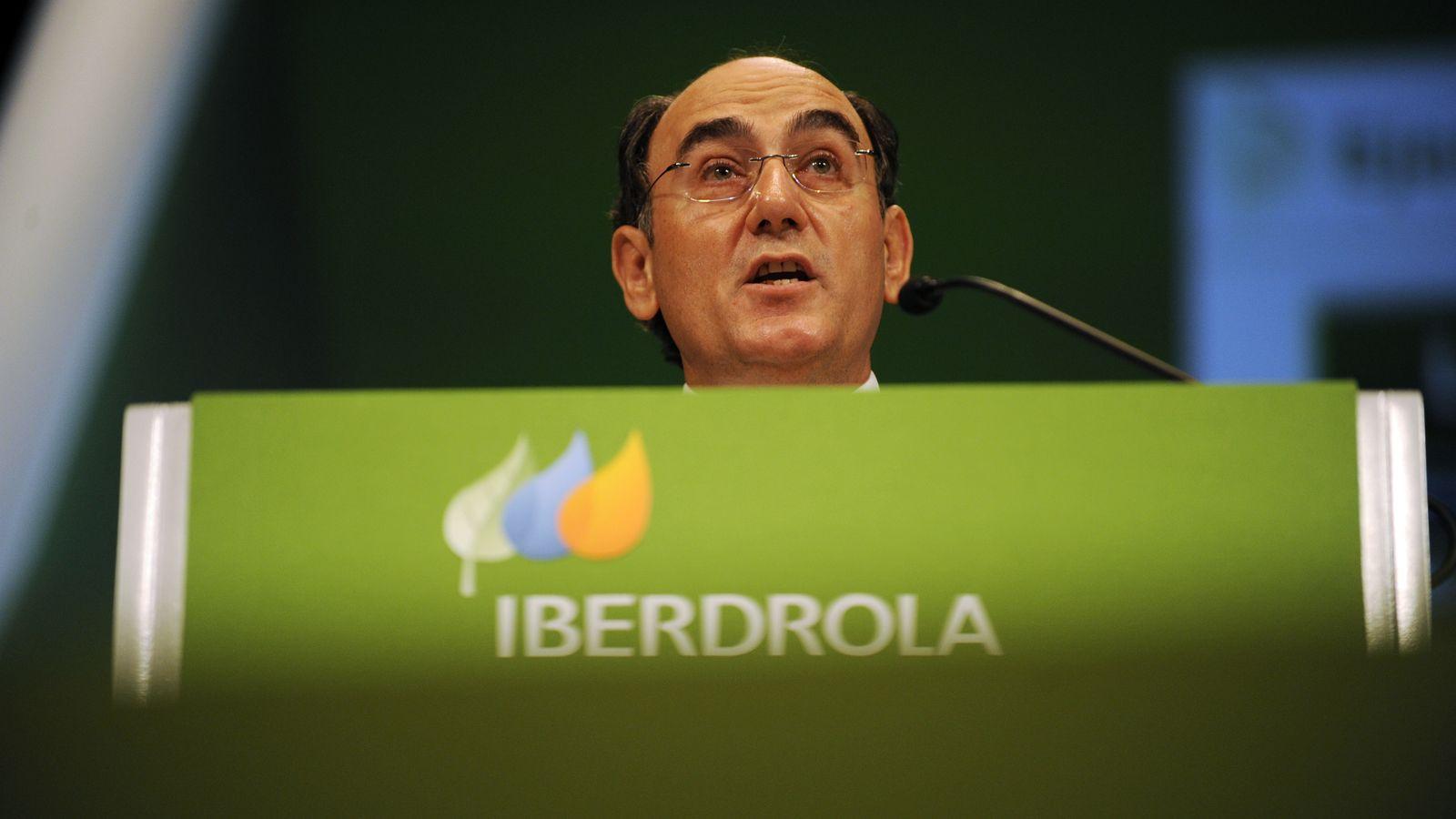 Foto: El presidente de Iberdrola, Ignacio Sánchez Galán. (Reuters)