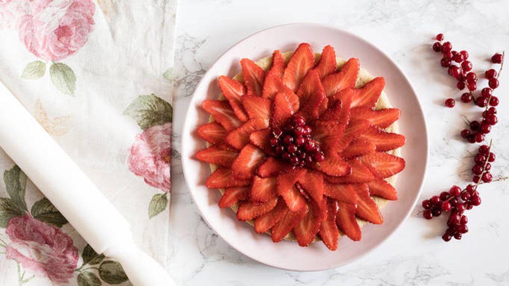 Foto: Tarta de galleta y fresa. (Snaps Fotografía)