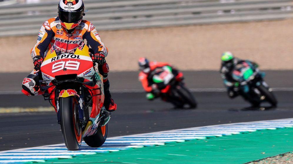 Foto: Jorge Lorenzo en el pasado Gran Premio de España disputado en el circuito Ángel Nieto de Jerez. (EFE)