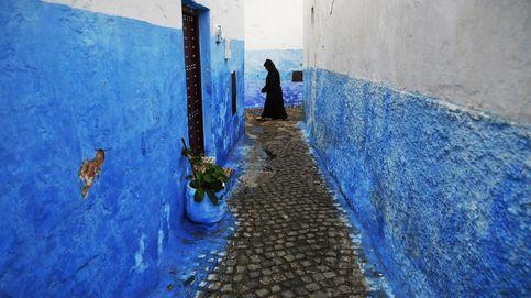 Las moras llevan burka para ocultar sus colmillos de vampiro