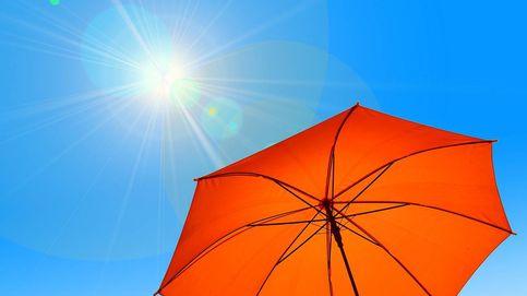 Sombrillas para protegerse del sol en terraza o jardín